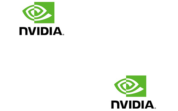 Tileable NVIDIA gift wrap - big logos
