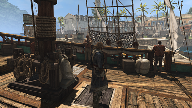 Assassin's Creed IV: Black Flag NVIDIA HBAO+ Ambient Occlusion Interactive Comparison.