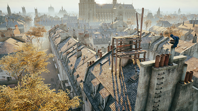 Assassin's Creed Unity - Shadow Quality - NVIDIA PCSS Interactive Comparison #2