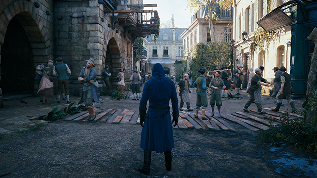 Assassin's Creed Unity - Texture Quality Interactive Comparison #3