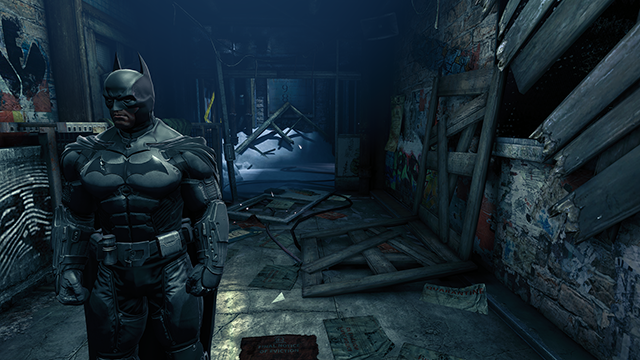 Batman: Arkham Origins NVIDIA HBAO+ Ambient Occlusion Interactive Comparison.