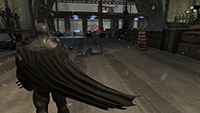 Batman: Arkham Origins DirectX 11 Cape Tessellation Interactive Comparison.