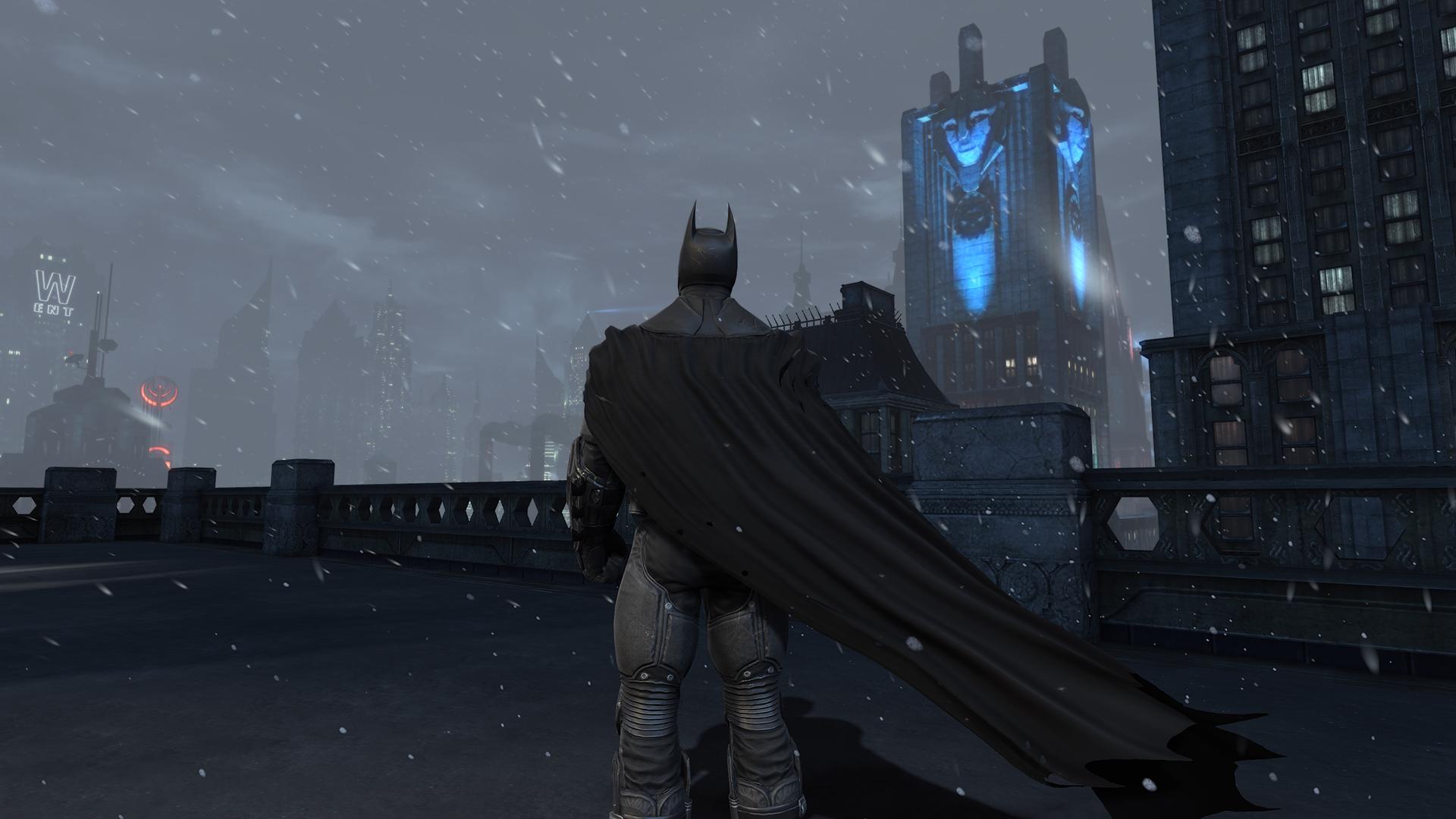 Batman Arkham Origins Cape