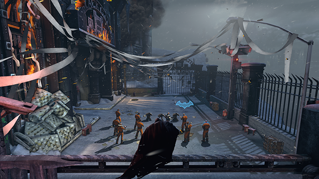 Batman: Arkham Origins NVIDIA GPU-Accelerated PhysX Interactive Comparison.