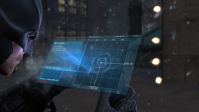 Batman: Arkham Origins NVIDIA Depth of Field Interactive Comparison.