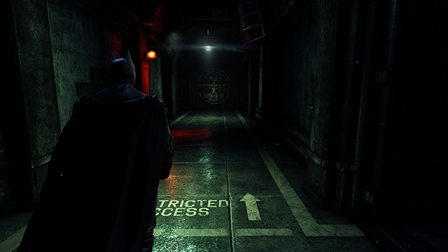 Batman: Arkham Origins Reflections Screenshot.