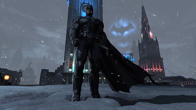 Batman: Arkham Origins DirectX 11 Snow Tessellation Interactive Comparison.