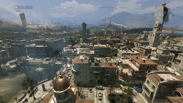 Dying Light - Version 1.2 vs. Patch 1.2.1 View Distance Comparison