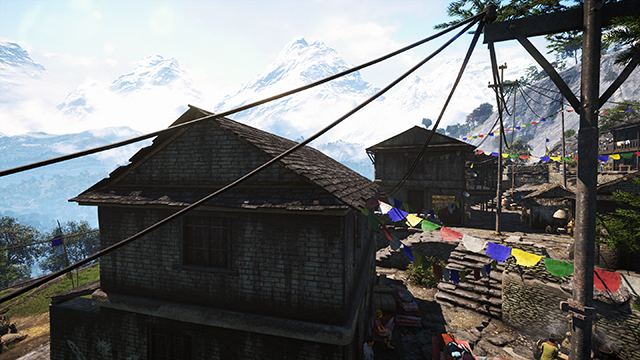 Far Cry 4 - Anti-Aliasing Quality - 4x TXAA Interactive Comparison #1