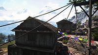 Far Cry 4 - Anti-Aliasing Quality Example #1 - 2xMSAA