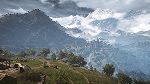 Far Cry 4 - Shadow Quality Example #2 - NVIDIA PCSS