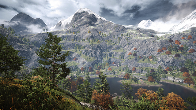 Far Cry 4 - Terrain Quality Interactive Comparison #1