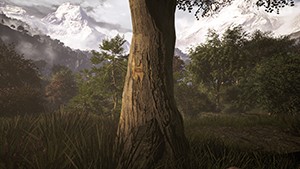 Far Cry 4 - Tree Relief Example #2 - Off