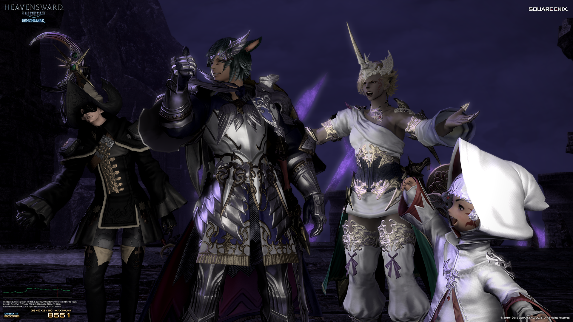 Download final fantasy xiv heavensward s benchmark to test your