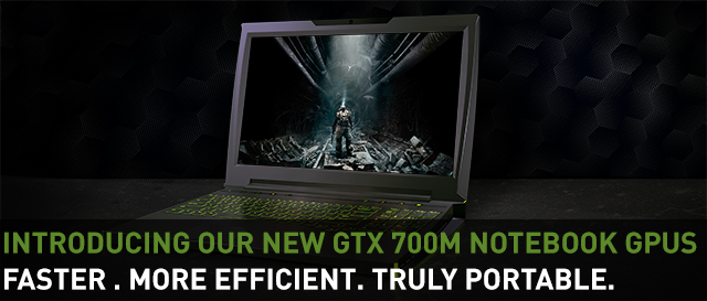 GeForce GTX 700M GPUs