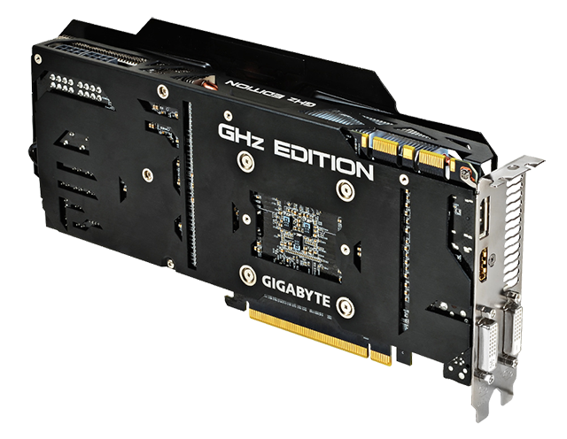 Gigabyte GeForce GTX 780 Ti GV-N78TGHZ-3GD Windforce GHz Edition
