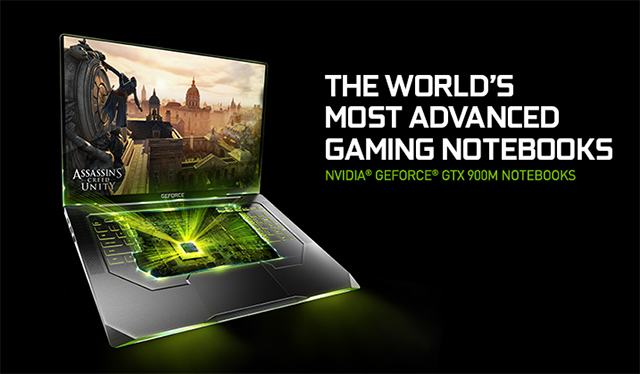 GeForce GTX 900M Notebooks: The World's Most Advanced Gaming Notebooks, Powered By New Maxwell Architecture. Available Now.