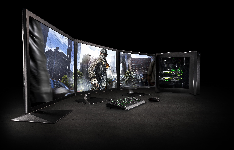 multiple monitor wallpaper setup