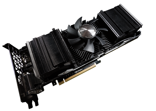 GeForce GTX TITAN Z - Fan & Fin Stack