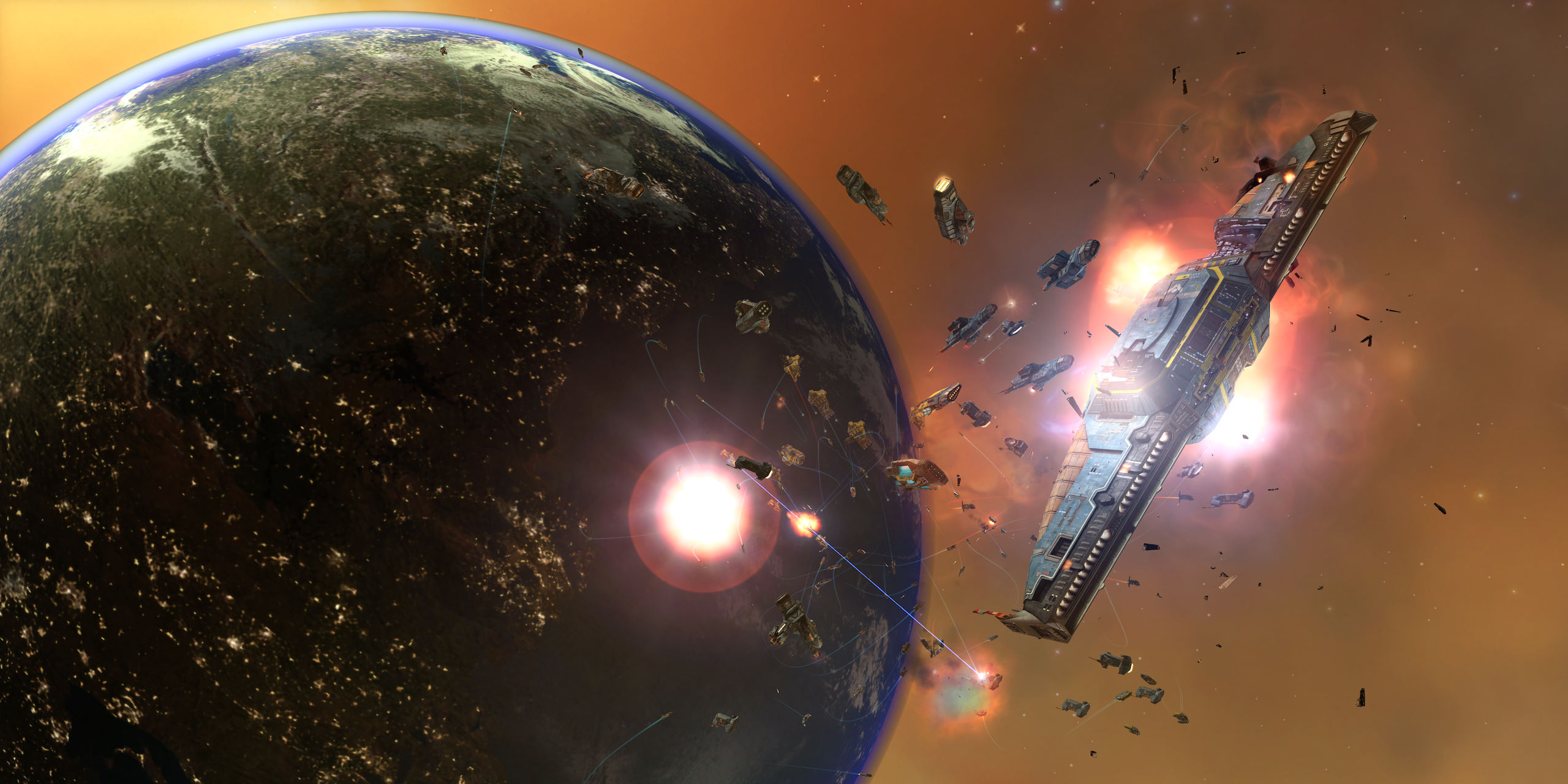 Homeworld Remastered Out Now Sli Profile Available From