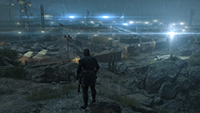 Metal Gear Solid V: Ground Zeroes - Lighting Quality Example #1 - Low