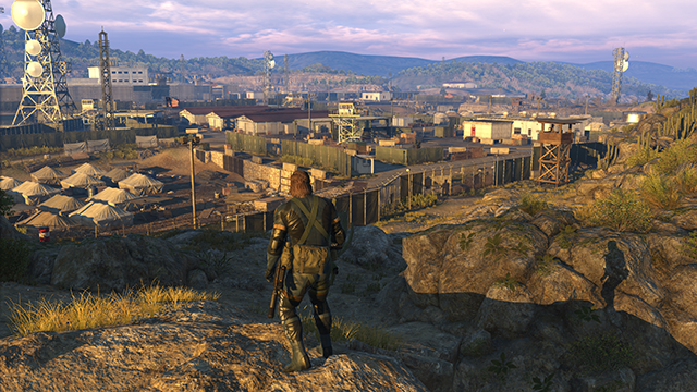Metal Gear Solid V: Ground Zeroes - Model Detail Interactive Comparison #1