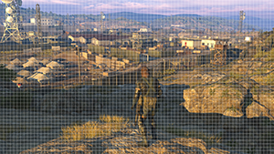 Metal Gear Solid V: Ground Zeroes - Sample Point Grid Square Example - 3840x2160
