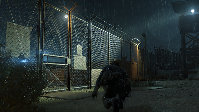 Metal Gear Solid V: Ground Zeroes - Post Processing: Bloom Comparison #1