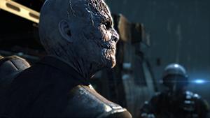 Metal Gear Solid V: Ground Zeroes - Screen Filtering: Cut Scene Depth of Field #1 - On