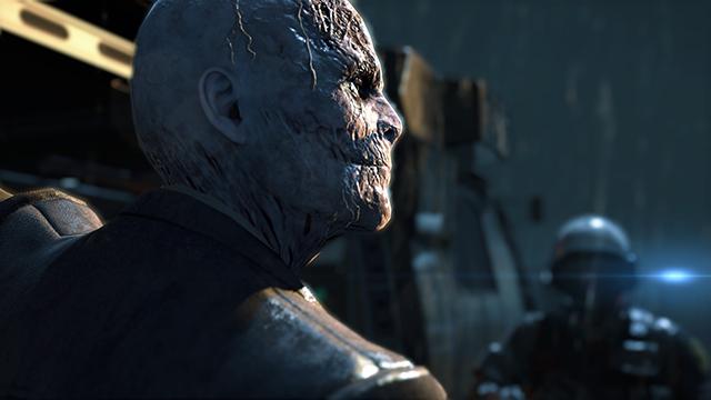 Metal Gear Solid V: Ground Zeroes - Screen Filtering: Cut Scene Depth of Field Comparison #1