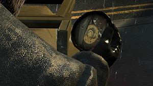 Metal Gear Solid V: Ground Zeroes - Screen Filtering: Cut Scene Depth of Field #2 - Off