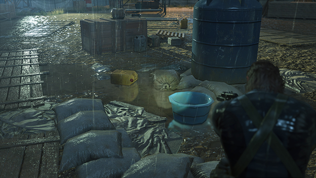 Metal Gear Solid V: Ground Zeroes - Screen Filtering: Screen Space Reflections Comparison #1