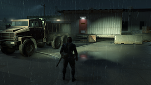 Metal Gear Solid V: Ground Zeroes - Screen Filtering: Screen Space Reflections #2 - On