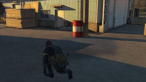 Metal Gear Solid V: Ground Zeroes - Screen Filtering: Screen Space Reflections #3 - Off