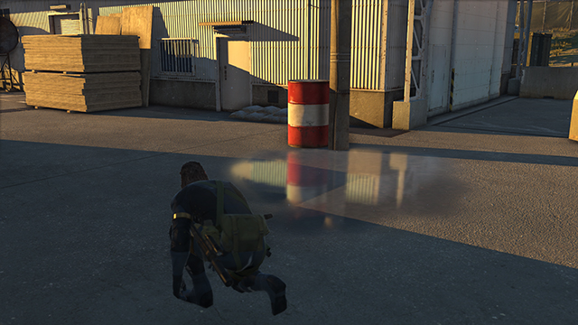 Metal Gear Solid V: Ground Zeroes - Screen Filtering: Screen Space Reflections Comparison #3