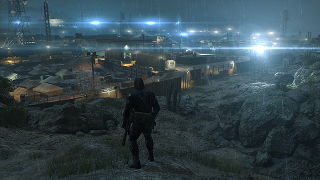 Metal Gear Solid V: Ground Zeroes - Shadow Quality Comparison #1