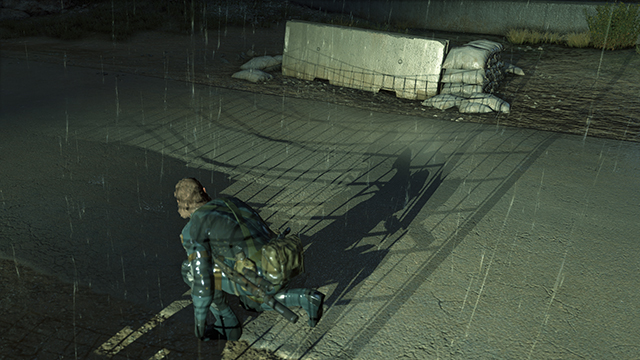 Metal Gear Solid V: Ground Zeroes - Shadow Quality Comparison #2