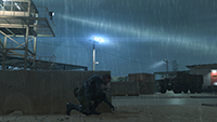 Metal Gear Solid V: Ground Zeroes - Special Effects Example #1 - Low