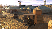 Metal Gear Solid V: Ground Zeroes - Texture Filtering Example #1 - Extra High