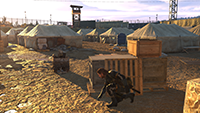 Metal Gear Solid V: Ground Zeroes - Texture Filtering Example #1 - High