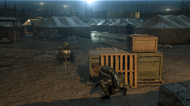 Metal Gear Solid V: Ground Zeroes - Texture Quality Comparison #2