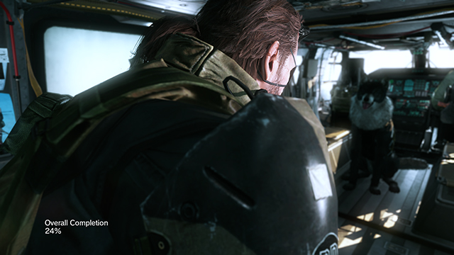 Metal Gear Solid V: The Phantom Pain - Depth of Field & Post Processing Interaction Comparison #1