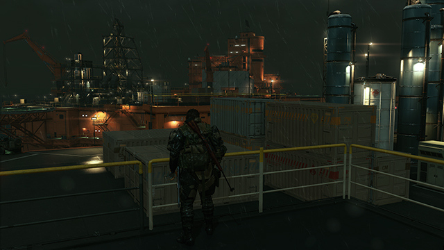 Metal Gear Solid V: The Phantom Pain - Lighting Quality Interactive Comparison #1