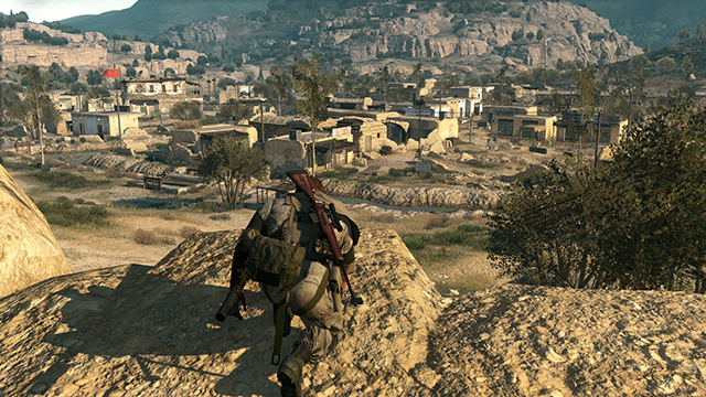 Metal Gear Solid V: The Phantom Pain - Model Detail Interactive Comparison #1