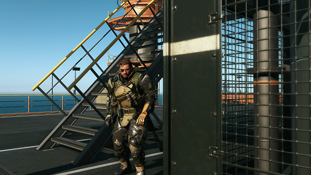 Metal Gear Solid V: Ground Zeroes - Post Processing: Post-Process Anti-Aliasing Comparison #1 - 3840x2160