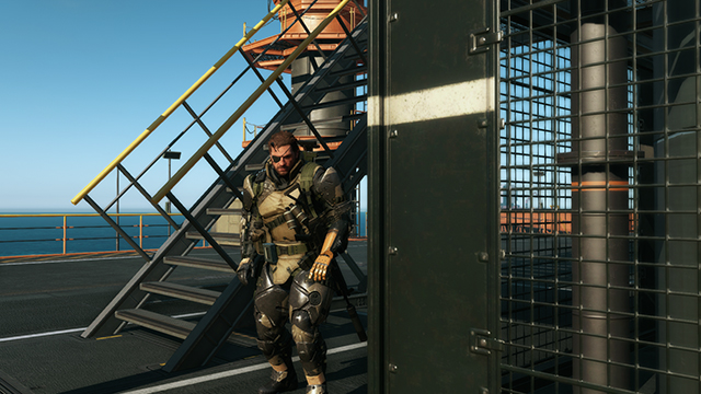 Metal Gear Solid V: Ground Zeroes - Post Processing: Post-Process Anti-Aliasing Comparison #1 - 1920x1080
