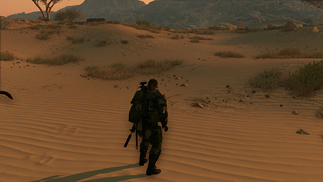 Metal Gear Solid V: The Phantom Pain - Texture Filtering Interactive Comparison #1
