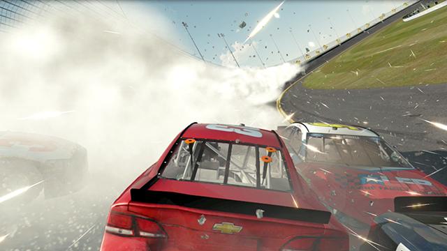 NASCAR 2014 - CUDA Particles Screenshot #1