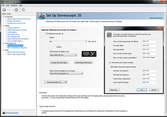 3D Compatibility Mode Setup