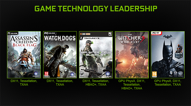 NVIDIA's advanced GPU technology will enhance many of this year's best games.